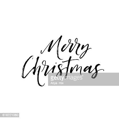Merry Christmas background. : Vector Art