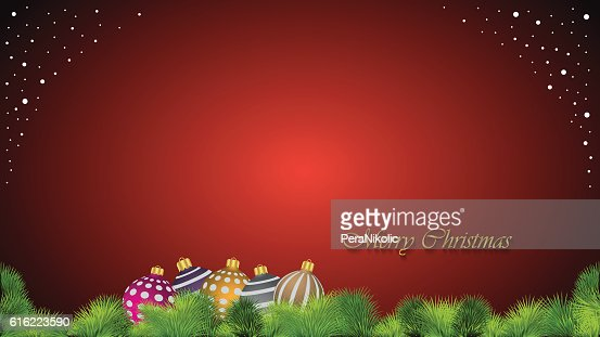 Merry Christmas background. : Vector Art