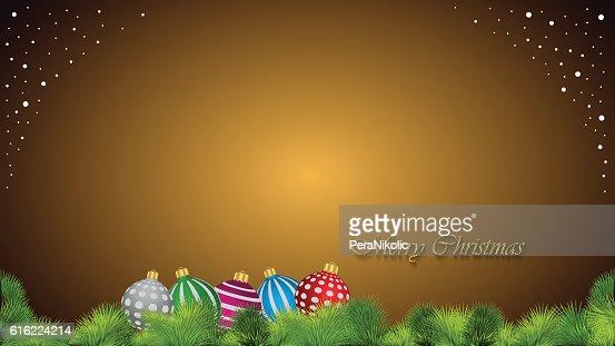 Frohe Weihnachten Hintergrund. : Vektorgrafik