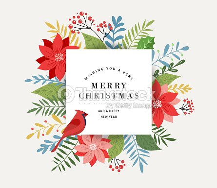 merry christmas greeting card banner and background in elegant modern and classic style with