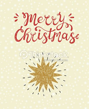 Merry Christmas Greeting Card Happy Holidays Vector Winter Holiday ...