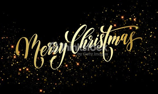 merry christmas greeting card vector golden firework sparkling confetti new year background vector art