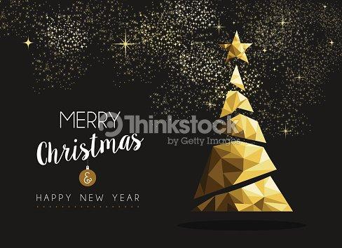 Frohe Weihnachten Und Happy New Year.Frohe Weihnachten Und Happy New Year Golden Triangle Tree