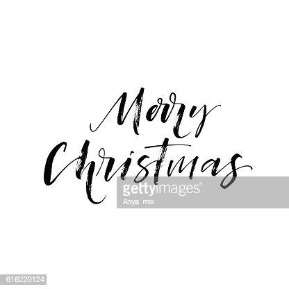Joyeux Noël carte postale. : Clipart vectoriel