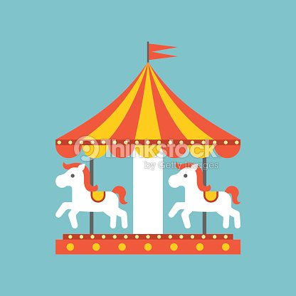 Merry Go Round Vector Vector Art | Thinkstock
