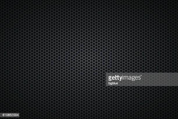 Metallic Texture - Metal Grid on wide Background