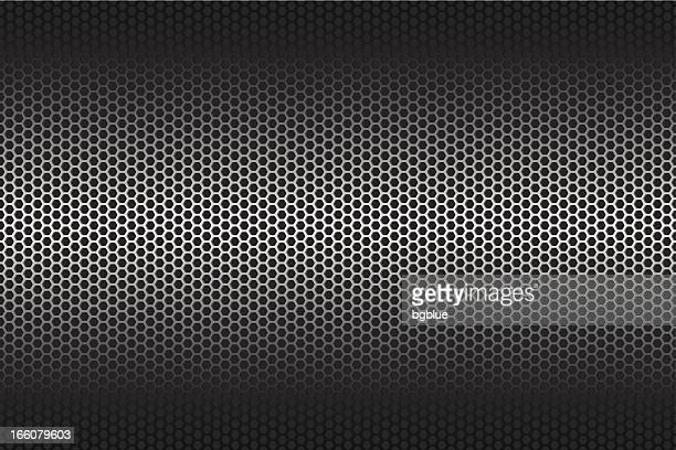 Metallic texture on wide Background