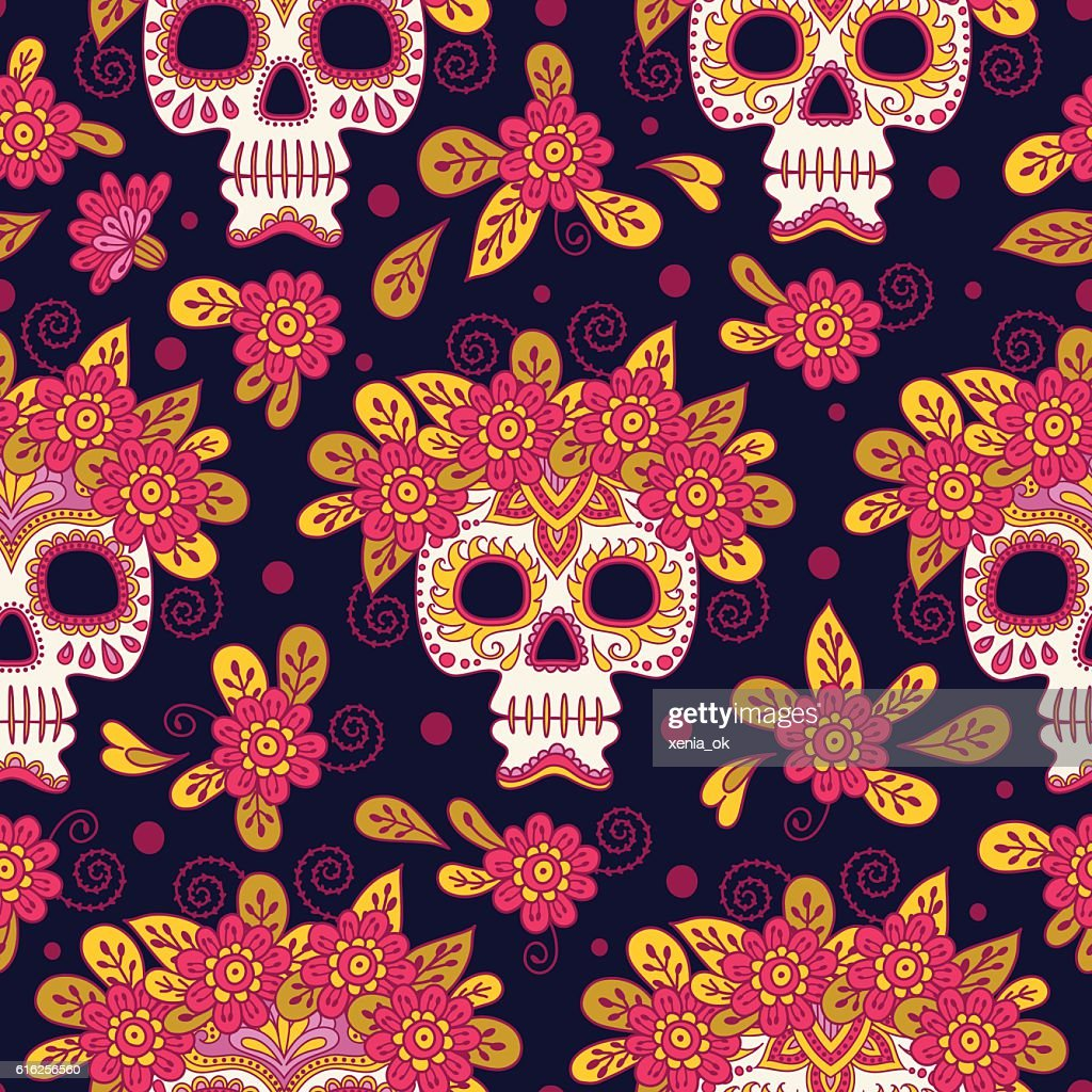 mexican day of the dead : Arte vectorial