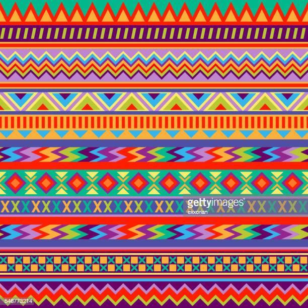 Mexikanische Kunst Muster