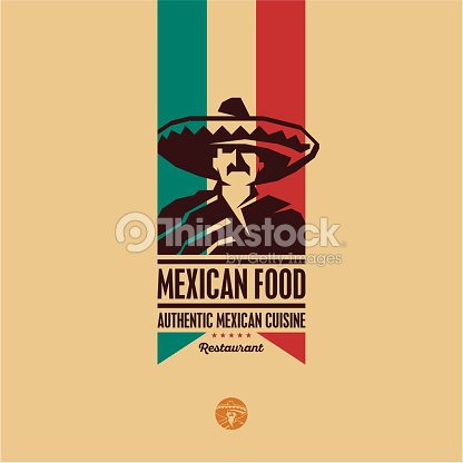 cuisine mexicaine logo du restaurant clipart vectoriel thinkstock. Black Bedroom Furniture Sets. Home Design Ideas