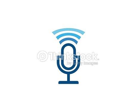 Mikrofonsymbol Vektorgrafik | Thinkstock