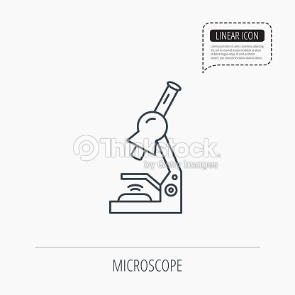 Microscope icon medical laboratory equipment vector art thinkstock microscope icon medical laboratory equipment ccuart Gallery