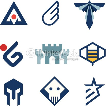 Middle Age History Style Logo Castle Symbol Of Strength Icon Vector