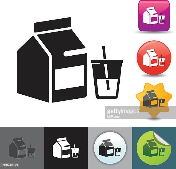 Milk carton icon | solicosi series