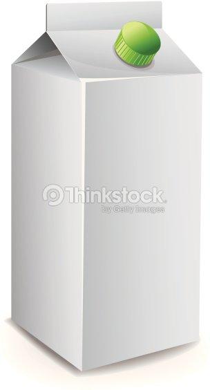 Milk Carton Template Vector Art | Thinkstock