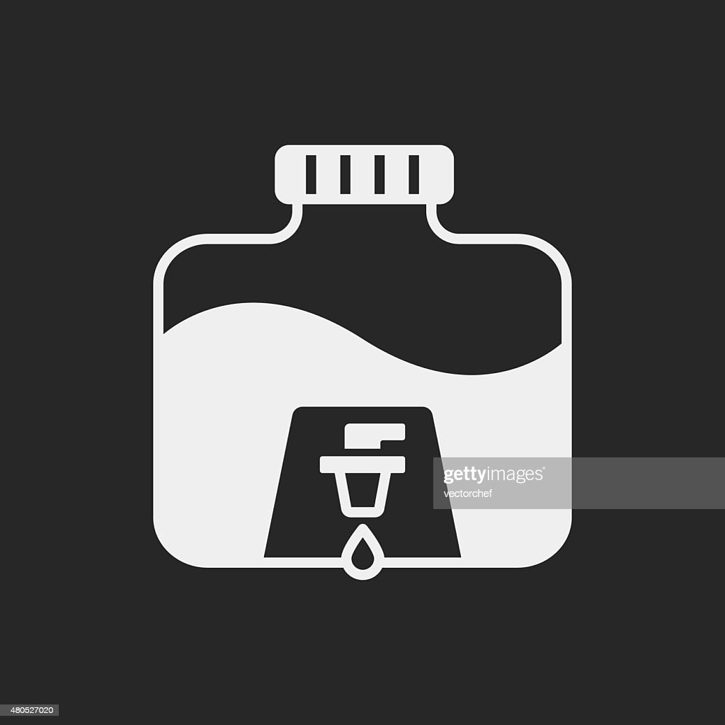 Mineral water icon : Vector Art