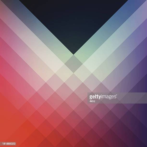 Minimal Graphic Diamond Pattern Design Template Frame Smooth Shadow Background