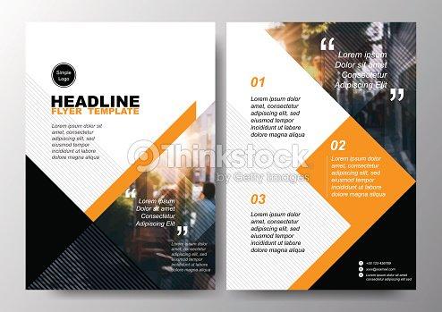 minimal poster brochure flyer design layout background vector