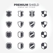 a simple Shield Collections for your business that quite unique so it can stand from the crowd. Easy to implement in future needs.