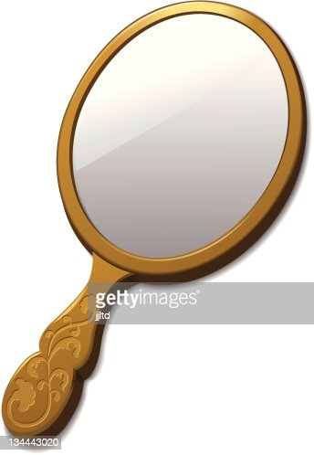 hand mirror vector. keywords. beauty · fashion getting dressed hand mirror vector