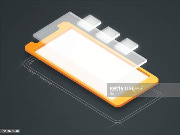 Mobile Device Screen App Design