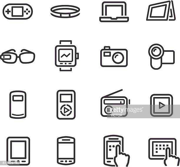 Mobile Devices Icon - Line Series