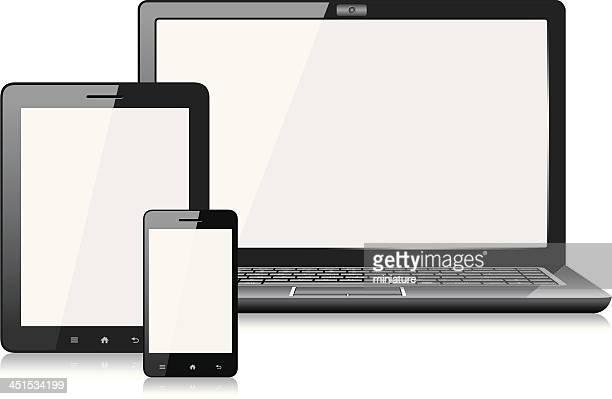 Téléphone Mobile, tablette numérique ou ordinateur portable
