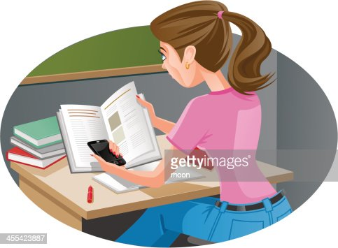 Doing Homework Cartoons and Comics   funny pictures from CartoonStock