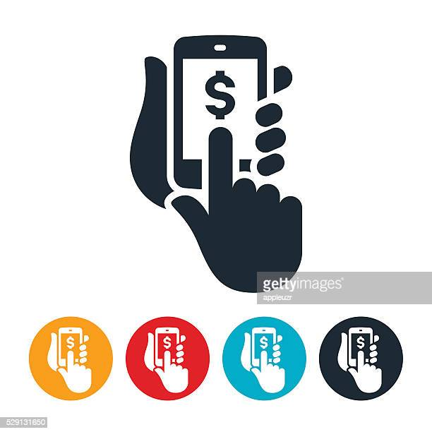 Mobile Purchasing Icon