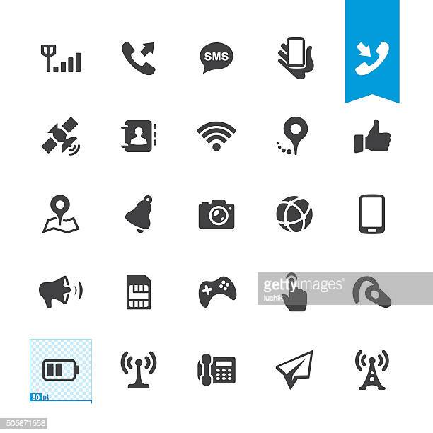Mobile Telecom vector icons