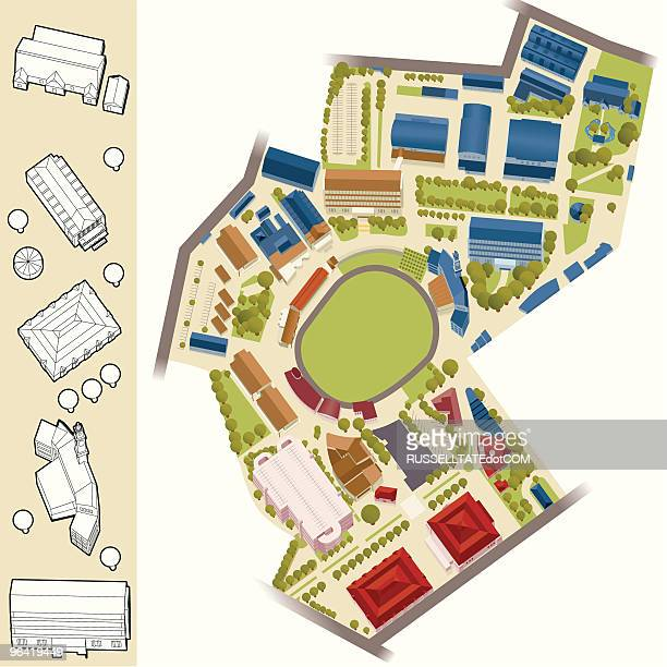 Model Village - Sports Arena