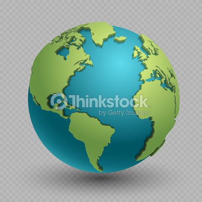 Modern 3d world map concept isolated on transparent background modern 3d world map concept isolated on transparent background vector art gumiabroncs Gallery