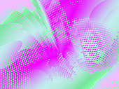 modern abstract halftone color background. Spring. flowers