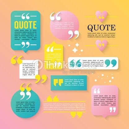 Moderner Block Angebot Designelemente Kreative Textvorlage
