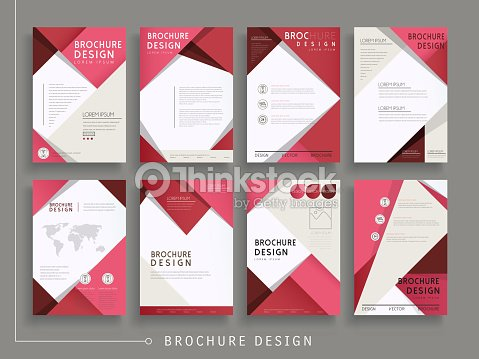 modern brochure template vector art