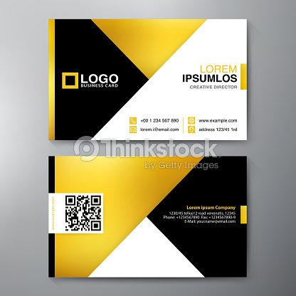 Modern business card design template vector art thinkstock modern business card design template vector art wajeb Images