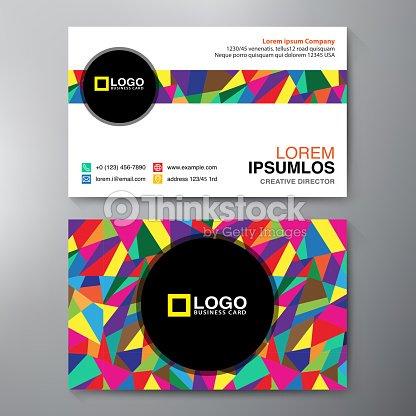 Modern business card design template vector art thinkstock modern business card design template vector art reheart Gallery