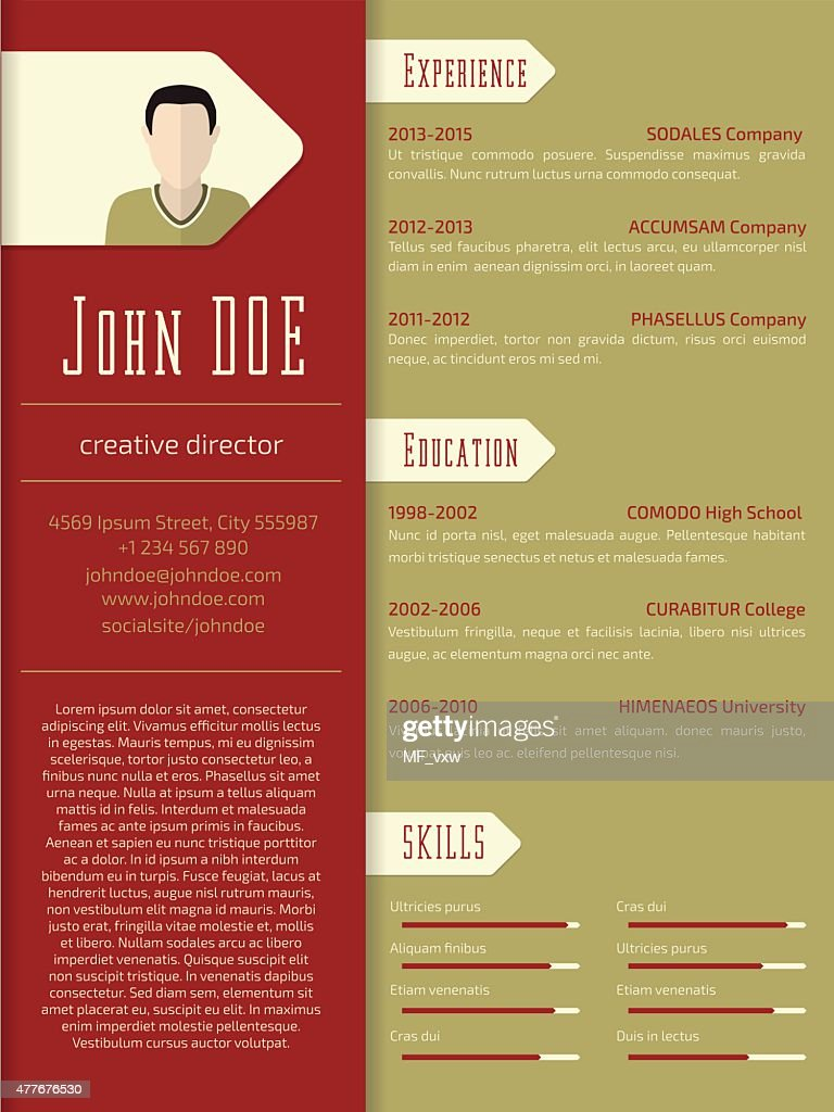 graphic design resume examples 2012 resume template by refinery