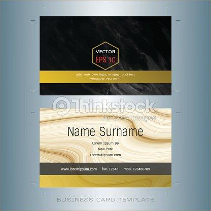 Modern designer business card layout templates black and gold marble modern designer business card layout templates black and gold marble background arte vetorial reheart Gallery