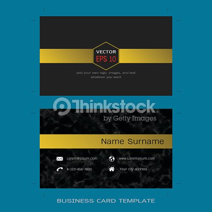 Modern designer business card layout templates black marble modern designer business card layout templates black marble background arte vetorial reheart Images