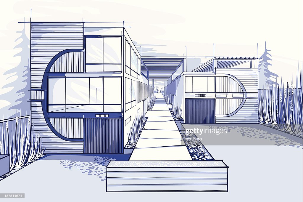 Modern House Vector Art Getty Images