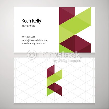 Modern letter k origami business card template vector art thinkstock modern letter k origami business card template vector art spiritdancerdesigns Images