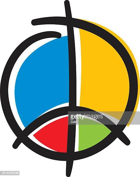 Symbole de la paix moderne