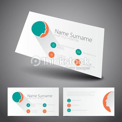 Modern simple business card flat ui vector template vector art modern simple business card flat ui vector template vector art colourmoves