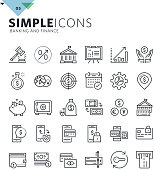 Premium quality outline symbol collection for web and graphic design, mobile app. Mono linear pictograms, infographics and web elements pack.