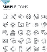Premium quality outline symbol collection for web and graphic design, mobile app. Mono linear pictograms, infographics and web elements pack