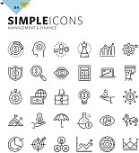 Premium quality outline symbol collection for web design, mobile app, graphic design. Mono linear pictograms, infographics and web elements pack.