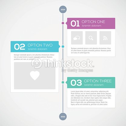 Modern Timeline Design Template Vector Art Thinkstock - Timeline design template