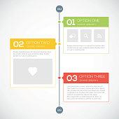 Modern timeline design template. Vector illustration for your design