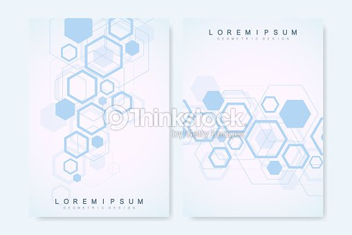 Modern Vector Templates For Brochure Cover Banner Flyer Annual